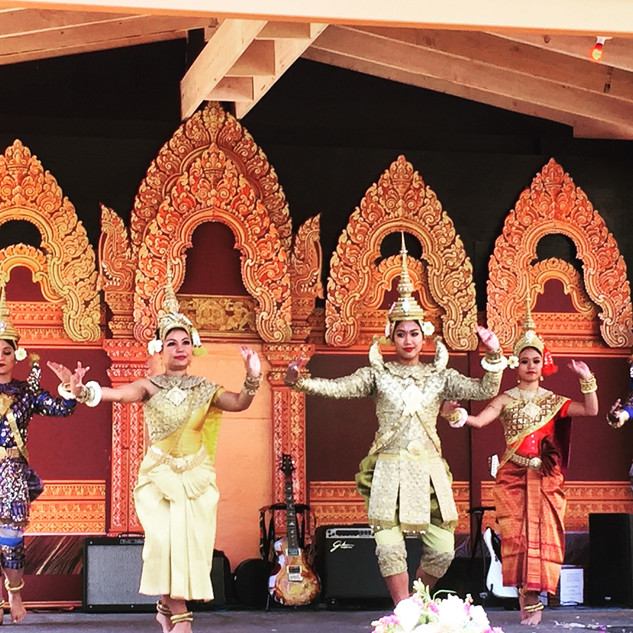 Traditional Cambodian Dancers