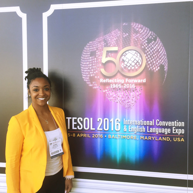 TESOL Conference '16