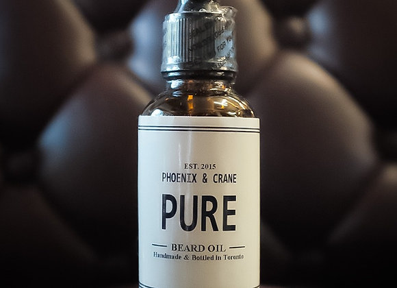 PHEONIX & CRANE BEARD OIL - PURE
