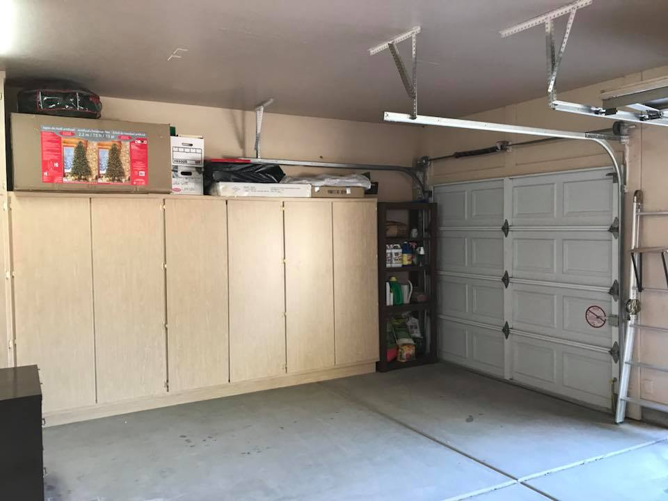 Garage After reorganization