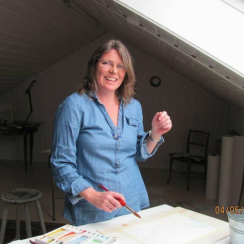 Kurs i krokitegning, akt og maleri