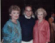 Rue McClanahan, Betty White & Rick Copp