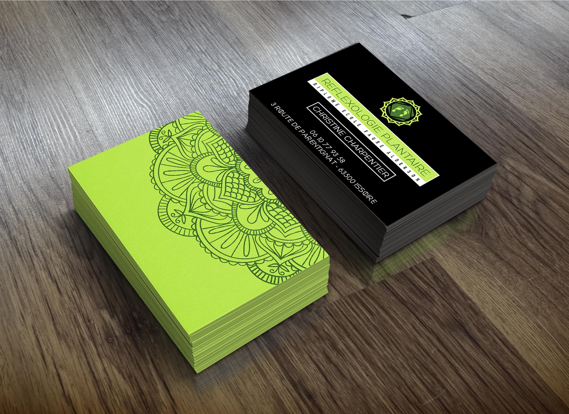 Cartes De Visites Reflexologie