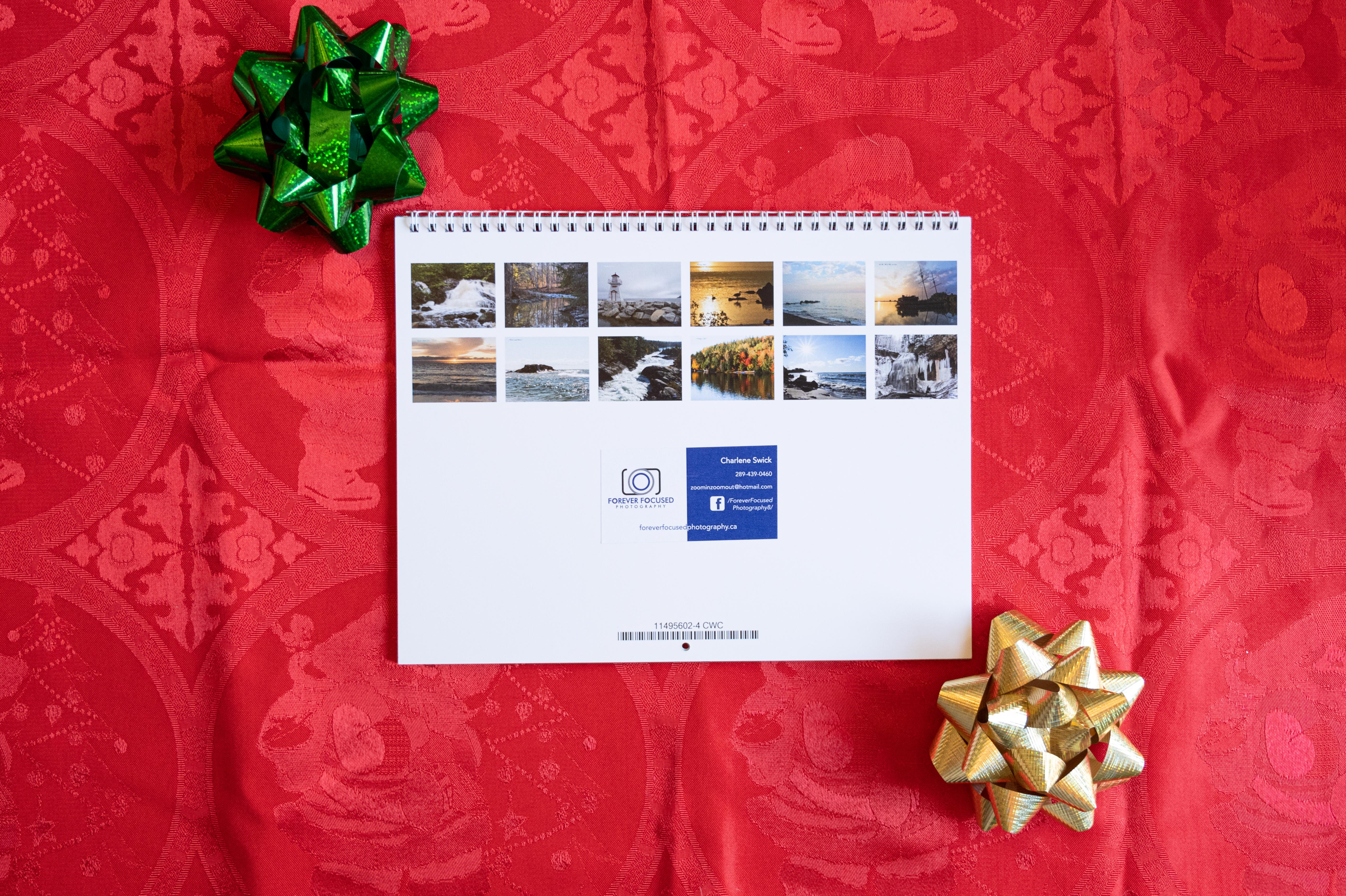 2021 Water and Reflections Calendar