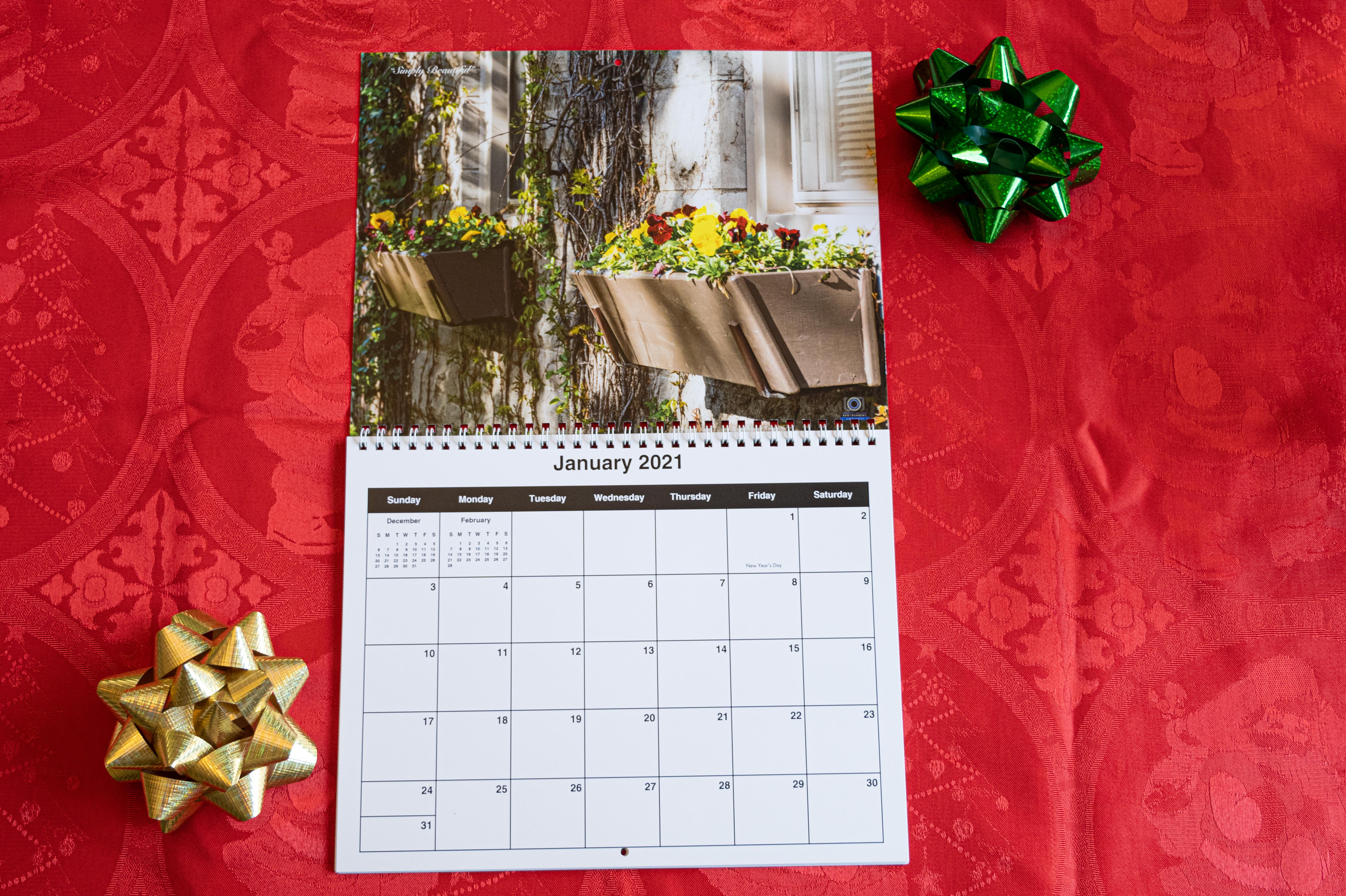 2021 Flowers and Trees Calendar