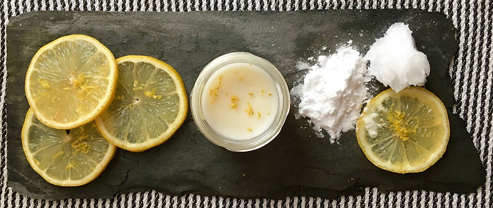 natural deodorant ingredients