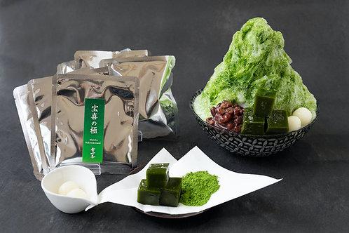 お濃茶かき氷キット【3食分】
