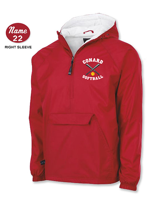 Conard Softball Pullover Jacket