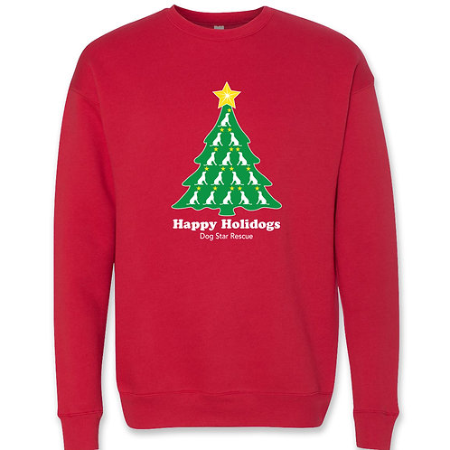 Red Holiday Sweatshirt