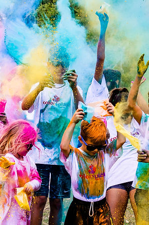 Color Run Newtown CT  August 25, 2018