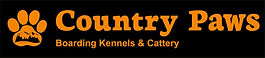 Country Paws Boarding kennels Christchurch footer logo