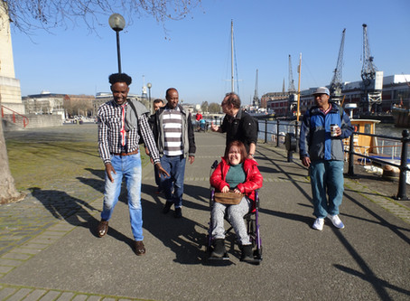 Make friends and keep fit with BHN's walking group