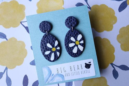 Sunflower Statement Earrings