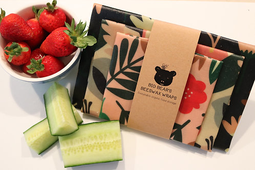 Gorgeous Floral Mixed Beeswax Set