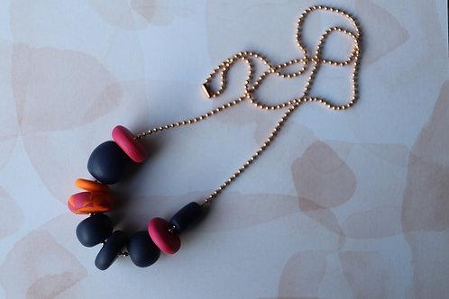 Bright Navy Necklace