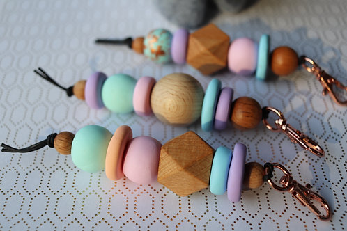 Gorgeous Pastel Keyrings