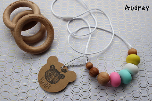 Teething Necklace - Audrey