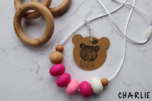 Teething Necklace - Charlie