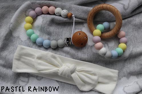 Pastel Rainbow Baby Gift Set