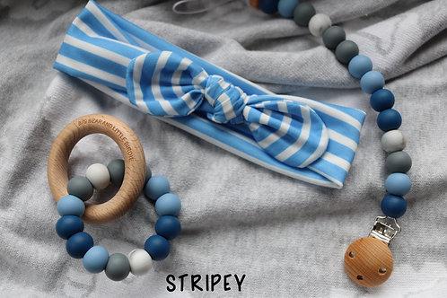 'Stripey' Baby Gift Set