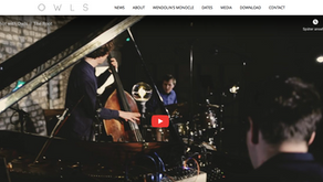New Homepage online