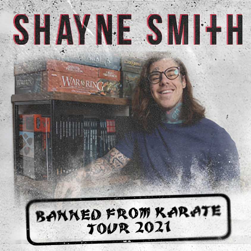 Hooked Entertainment Comedy Series - Shayne Smith Banned from Karate Tour 2021