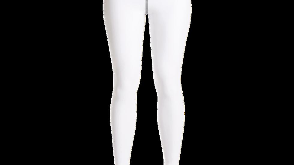 Blk Yoga Spade Stamp Leggings