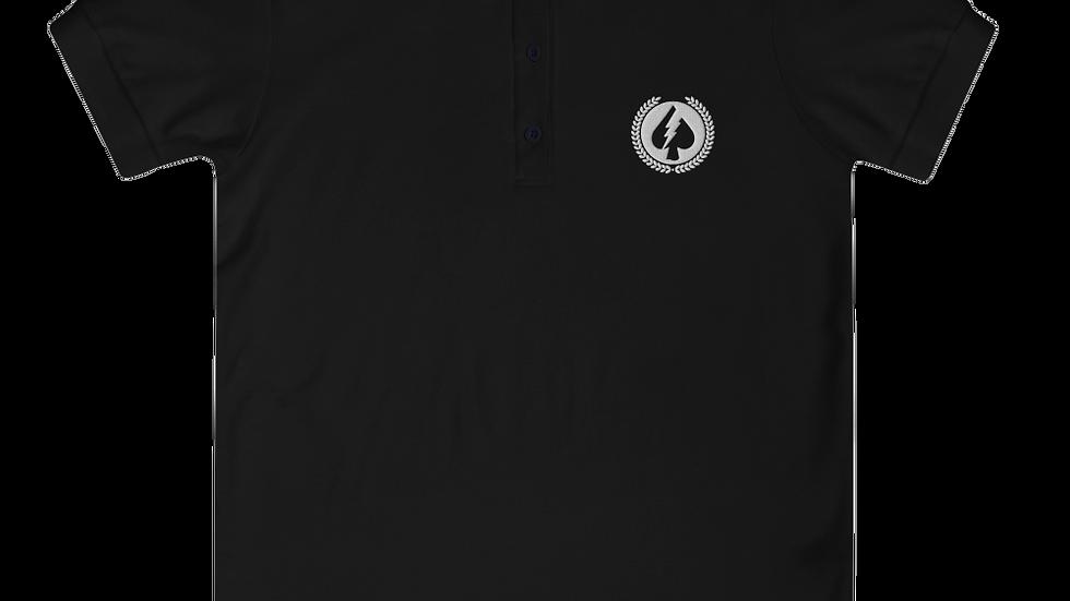 Spade Stamp Women's Polo Shirt