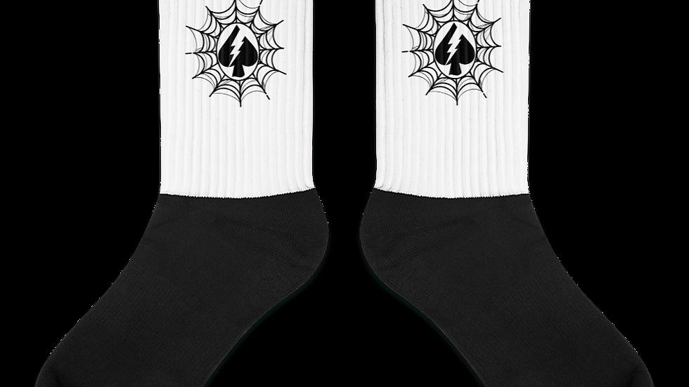 Spade Web Socks