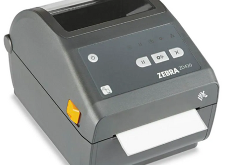 Setting up the Zebra Label Printer