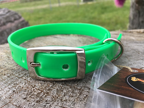 Dog Collar - Lime Green