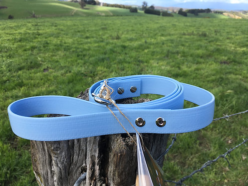 Dog Lead - Light Blue
