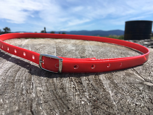 Horse ID Collar - Red