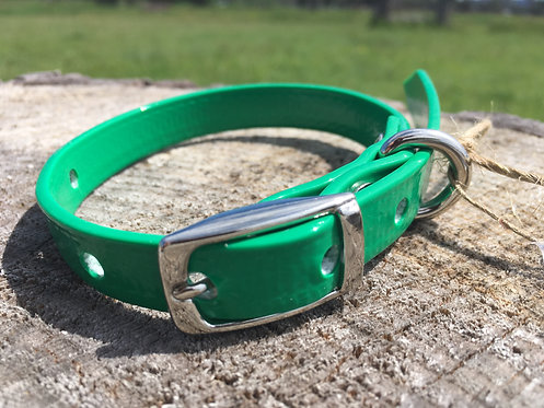 Dog Collar - Green