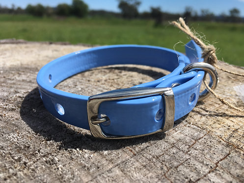 Dog Collar - Light Blue