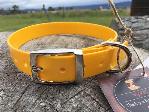 Dog Collar - Yellow