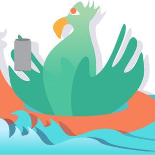 Bird Floaty