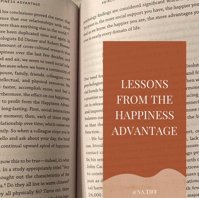 Book Review: Lessons from The Happiness Advantage