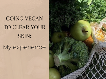 Going Vegan to Clear Your Skin: My experience
