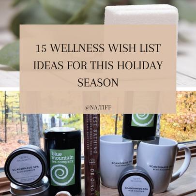 15 Wellness Wish List Ideas