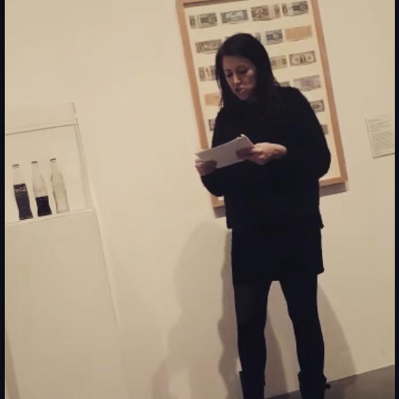 Ten minute talk at Tate Modern