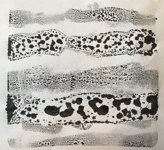Ink structure in jelly mould