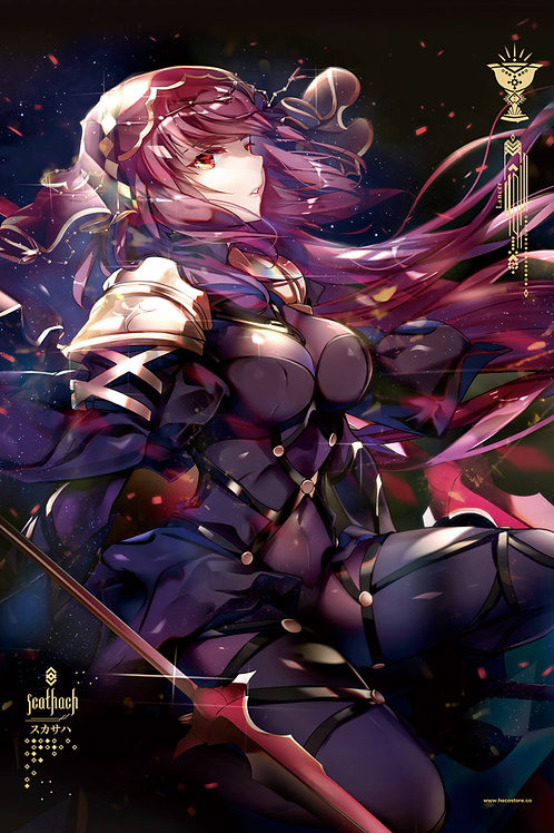 ART SCROLL | SCATHACH