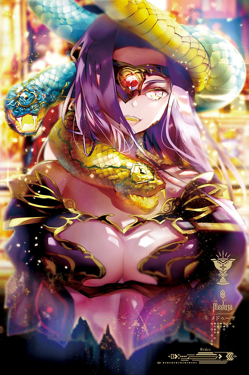 ART SCROLL | MEDUSA