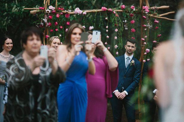 unplugged wedding - offline bleiben