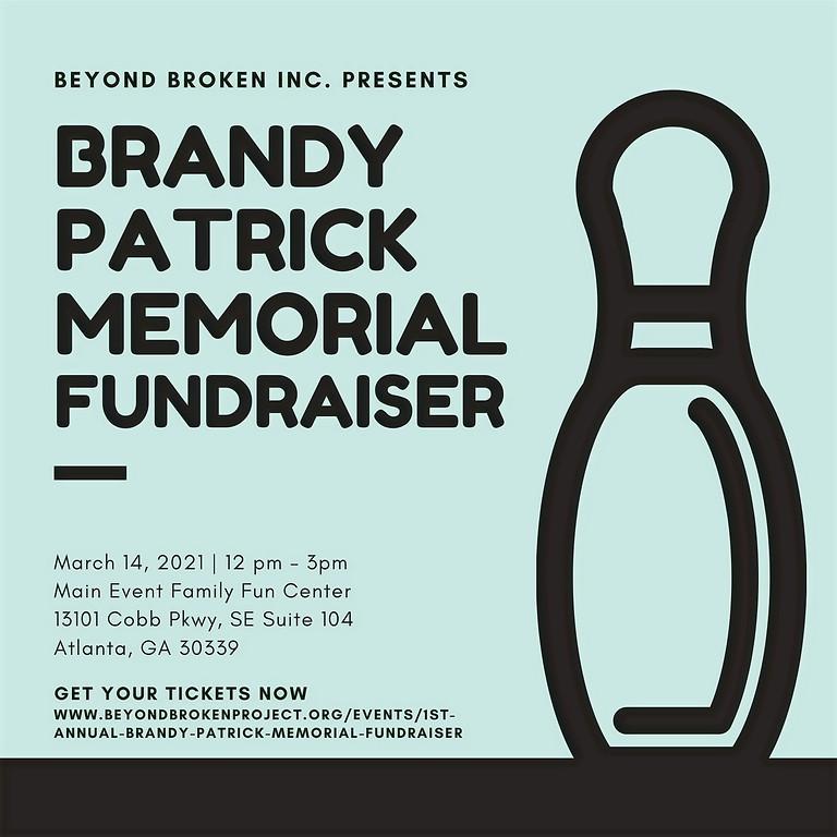 1st Annual Brandy Patrick Memorial Fundraiser