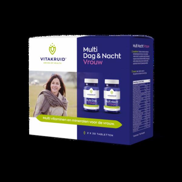 Vitakruid Multi Dag&Nacht Vrouw