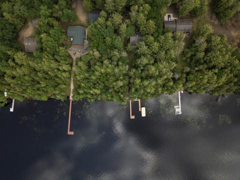 Dog Lake - Three Lakes Chain of Lakes Aerial