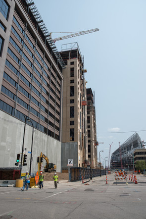 Wells Fargo Downtown East Construction