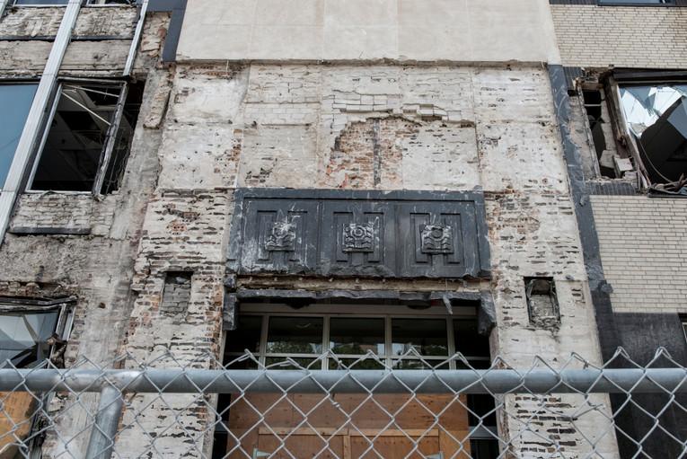 Demolition of Star Tribune Building